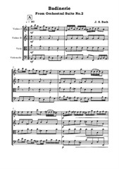 Badinerie From Orchestral Suite No.2